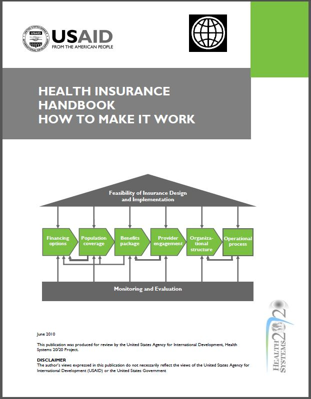 Cover Page: Health Insurance Handbook: How to Make it Work