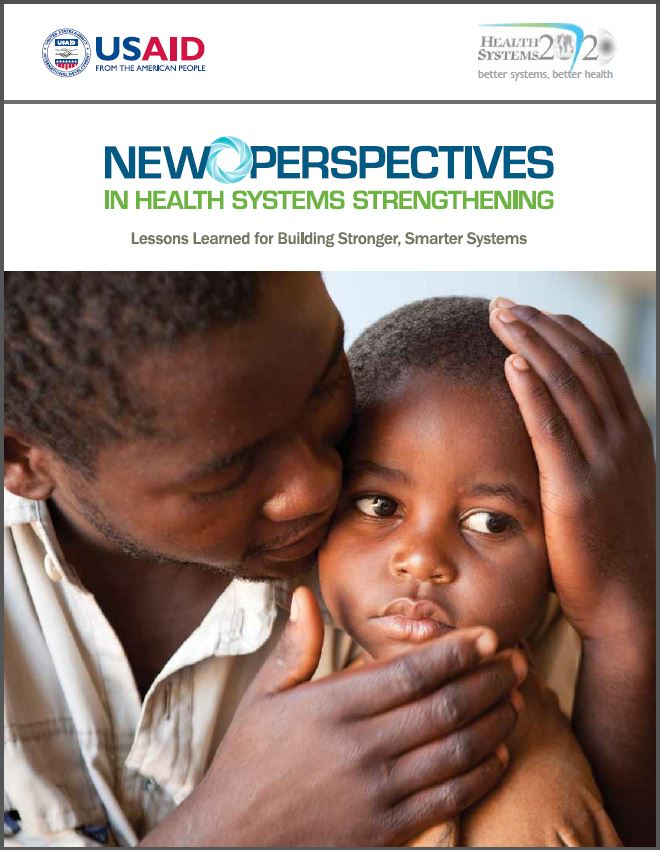 Cover Page of New Perspectives in Health Systems Strengthening Executive Summary