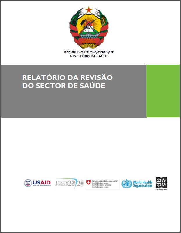 Cover Page: Mozambique Health Systems Assessment in Portuguese