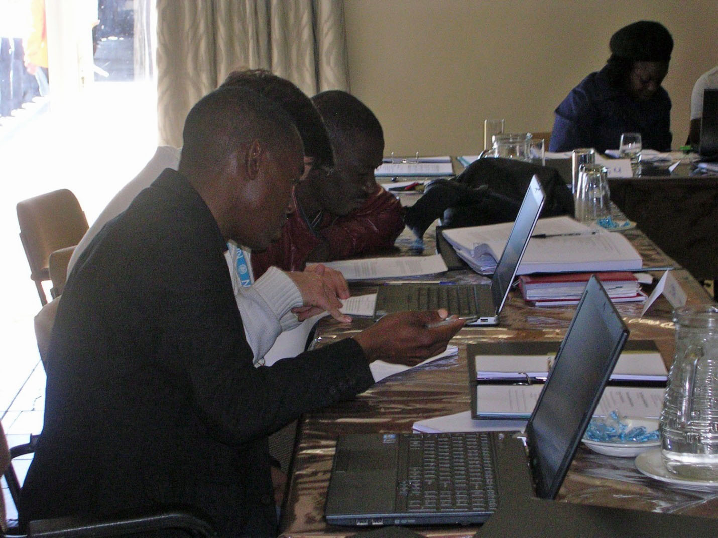 Participants at the Workshop on System of Health Accounts (SHA) 2011 in Windhoek, Namibia, 21 -25 July, 2014.