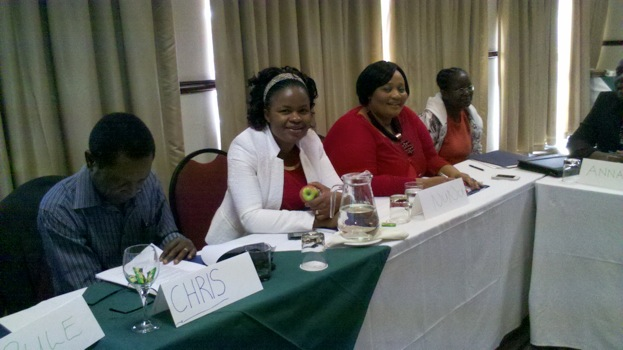 A total of 37 senior hospital administrators, contracts managers, and head matrons from seven different hospitals in Botswana, as well as Ministry of Health personnel, participated in the highly-participatory workshop. Photo Credit: Marsha Slater.