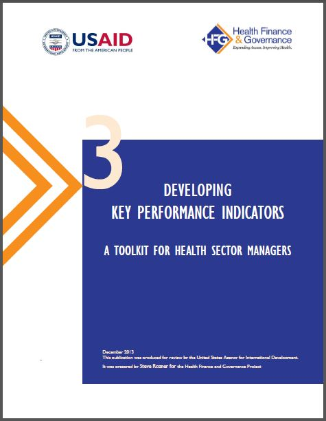 Cover Page:Developing Key Performance Indicators
