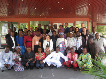 Nigeria workshop group post