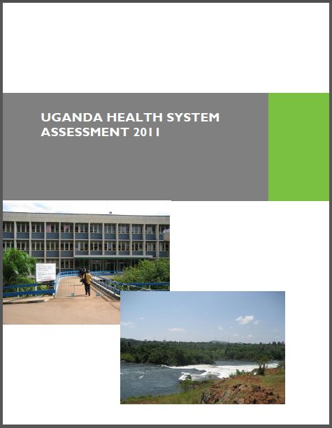 Cover Page of Uganda Health System Assessment 2011