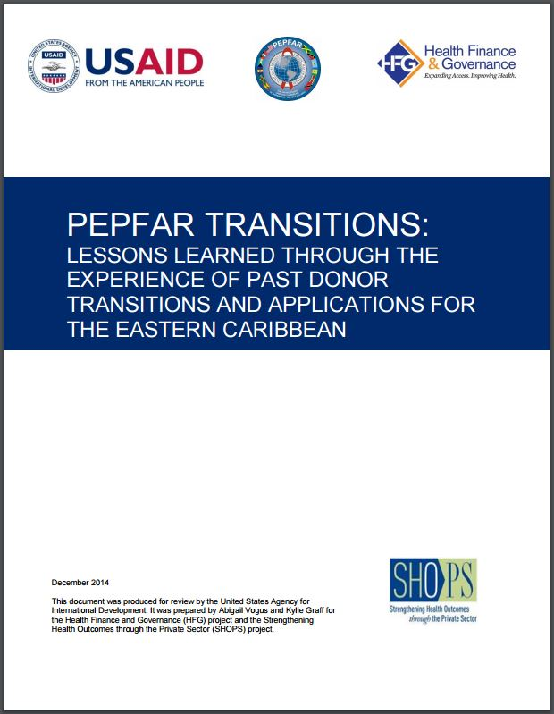 pepfar transitions cover