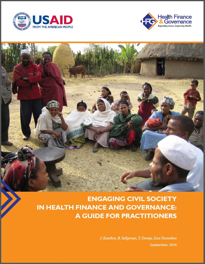 Engaging Civil Society in Health Finance and Governance: A Guide for Practitioners