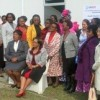 Group at launch of the Swaziland Nursing Council's office space.