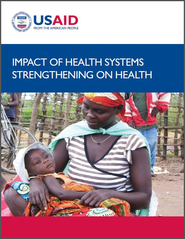 Cover Page: Impact of Health Systems Strengthening on Health