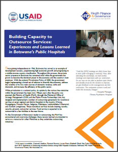 Building Capacity Botswana Brief screenshot