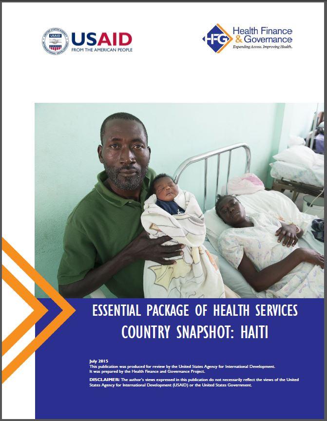 Haiti EPHS cover
