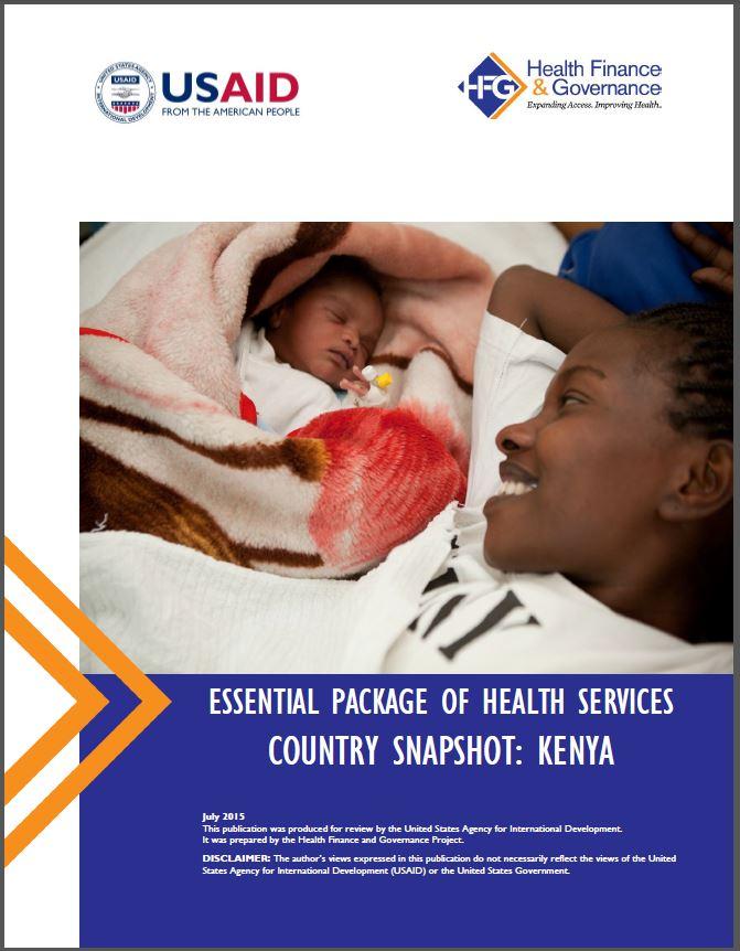 Kenya EPHS cover