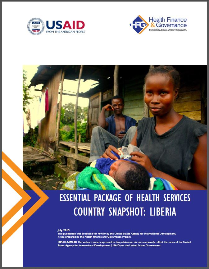 Liberia EPHS cover