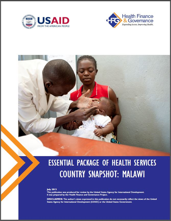 Malawi EPHS cover