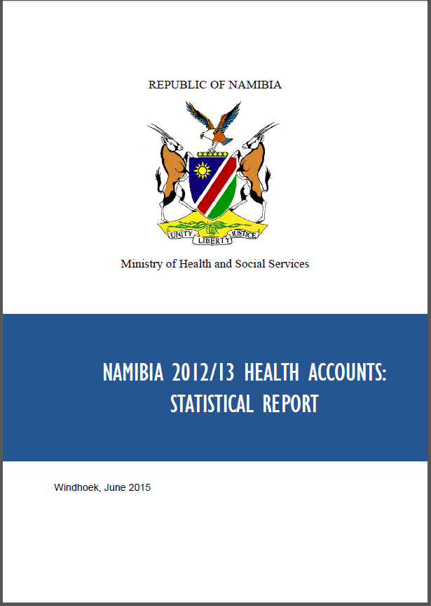 Namibia HA statistical report screenshot