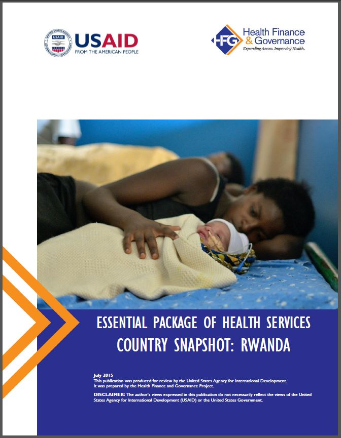 Rwanda EPHS cover page