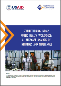 Strengthening India's public health workforce screenshot