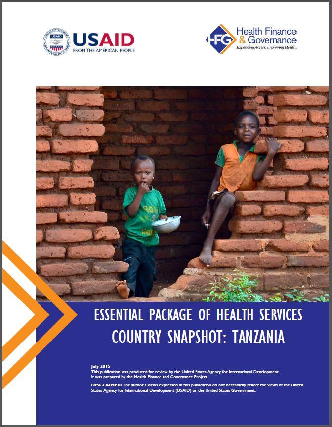 Tanzania EPHS cover