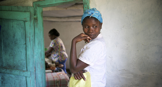© 2014 C. Hanna-Truscott/Midwives for Haiti, Courtesy of Photoshare