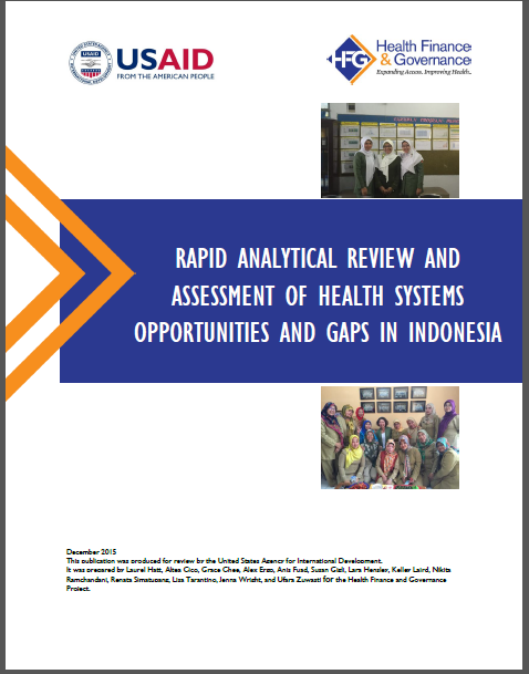 Final rapid assessment report cover.