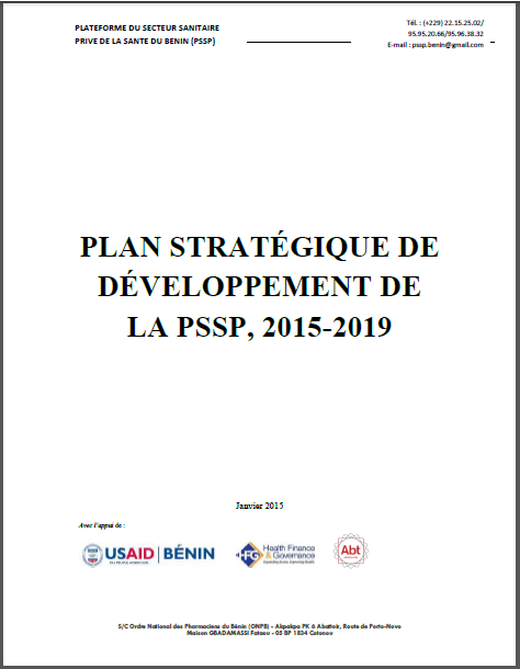 Benin plan strategique