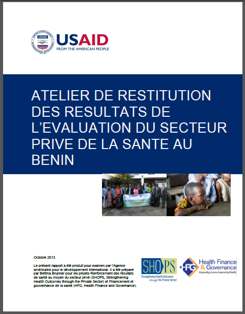 Benin workshop report