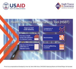 USAID's Health Systems Benchmarking Tool (HSBT) | HFG
