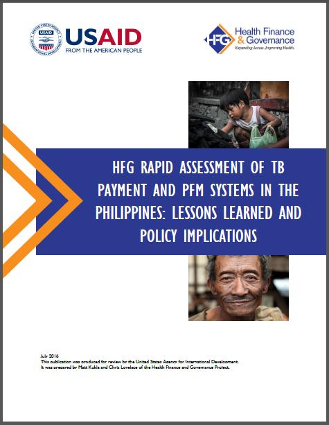 Philippines TB report