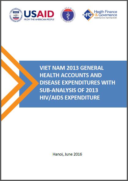Vietnam 2013 General Health Accounts and Disease