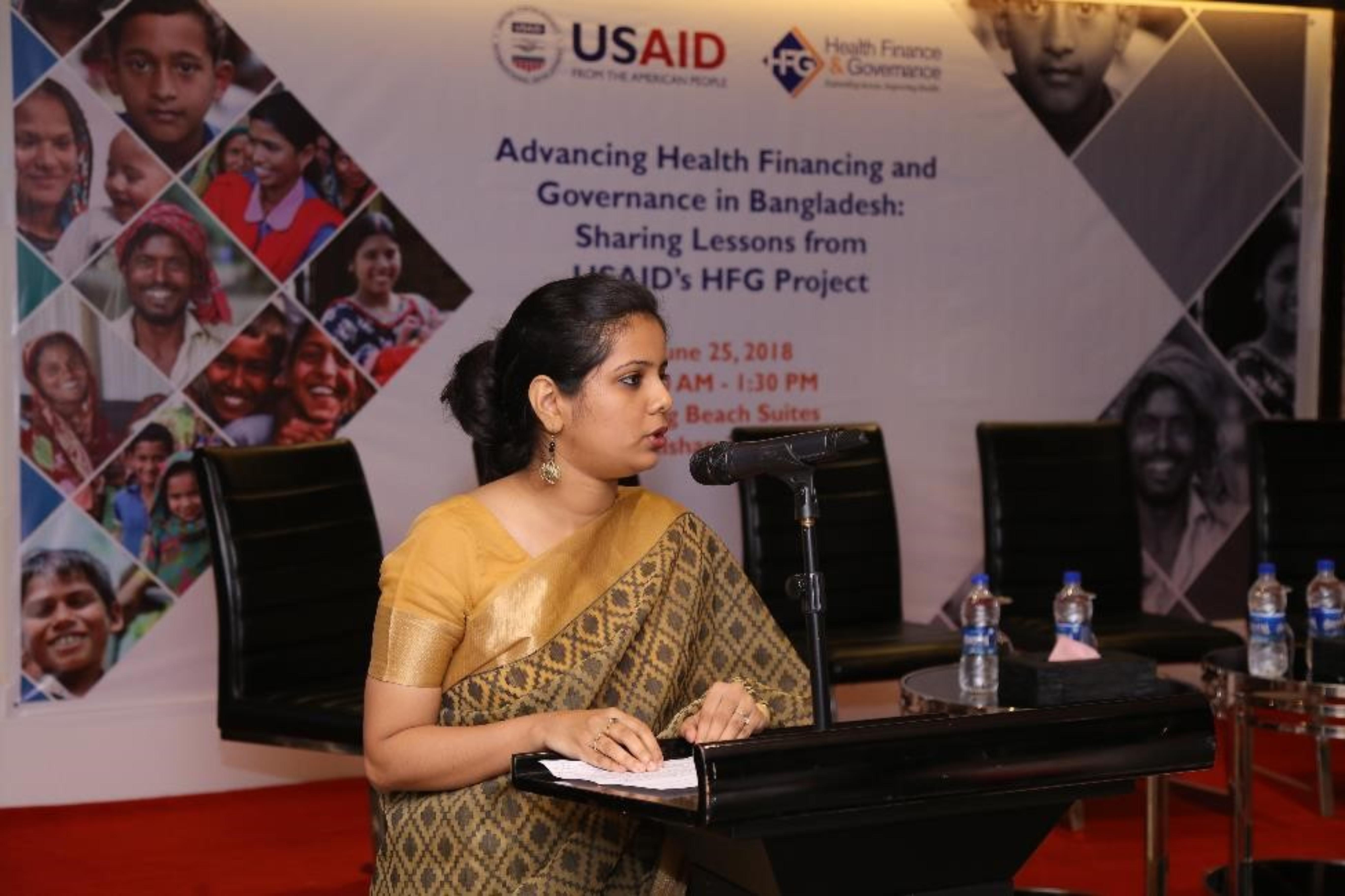 Dr. Pushpita Samina